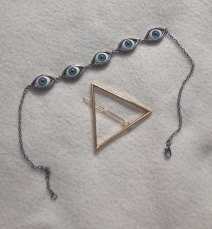 Eyes Bracelet et barrette