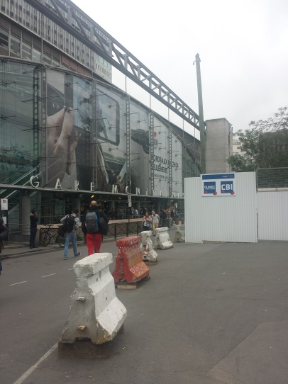 Arrivée Gare Montparnasse